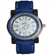 Romand Mens Quartz 3530 Watches(Blue)