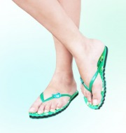 Ladies Casual FlipFlops(Green)