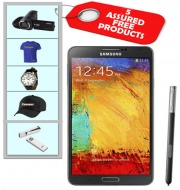 Contest -Samsung Galaxy Note 3 N9000 with Assured Free 5 products : Canopus - Blue T-Shirt, Men White Dial Watch, Cap, handycam & HP 8 GB Pen Drive